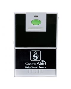 Baby cry monitor accessory for the Central Alert  home notification system for the hard of hearing