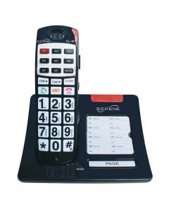 Big Button,  40+dB Amplified Cordless Phone With Talking CID
