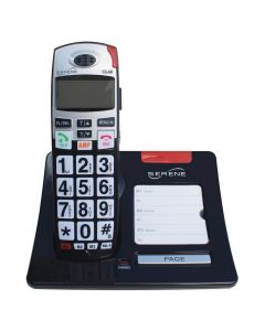 Big Button, Loud Volume 50+dB, Amplified Cordless Phone With Talking CID And Talking Keypad