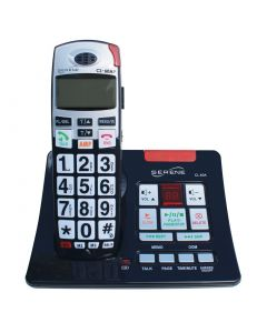 Big Button Loud 50+dB Amplified Cordless Phone With Talking CID And Slow-Playback Answering Machine