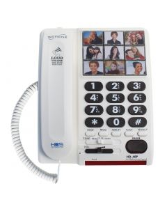 High-Definition 26+dB Amplified Telephone with Photo Memory