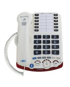 High-Definition 50+dB Amplified Talking CID Phone - Bluetooth® Connectivity to Cell