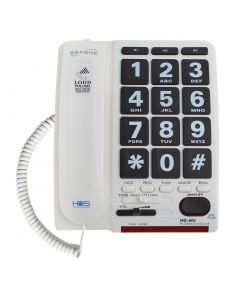 High-Definition 55+dB Loud Volume Amplified Telephone w/Jumbo-Key