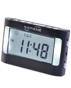 Wireless Shake Awake Alarm Clock for Hearing Impaired